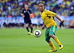11 June 2010, South African forward  Steven Pienaar on the ball in the opening game of the 2010 Fifa World Cup between South Africa and Mexico at the Soccer City stadium in Johannesburg. The game ended in a one all draw. Picture: Shayne Robinson