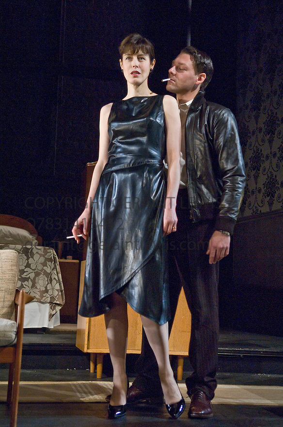 The Lover by Harold Pinter,part of a Double bill with The Collection.With Gina McKee as Sarah,Richard Coyle as Richard. Opens at The Comedy Theatre on 29/1/08  CREDIT Geraint Lewis