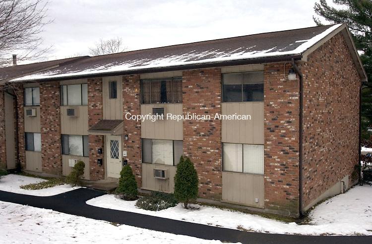 WATERBURY CT. 27 January 2014-012714SV10-20L Kay Street in Waterbury.<br /> Steven Valenti Republican-American