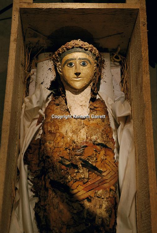 Mummy of a five-year-old boy, Bahariya, Greco-Roman Period