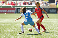 Portland, OR - Saturday August 05, 2017: Amandine Henry during a regular season National Women's Soccer League (NWSL) match between the Portland Thorns FC and the Houston Dash at Providence Park.