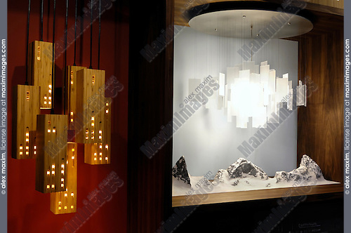 Home lighting Creative exotic contemporary lamps