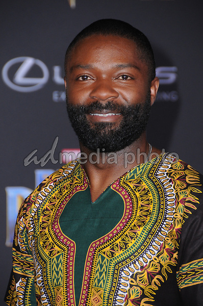 "29 January 2018 - Hollywood, California - David Oyelowo. Marvel Studios' ""Black Panther"" World Premiere held at Dolby Theater. Photo Credit: Birdie Thompson/AdMedia"