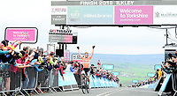 Picture by SWpix.com 04/05/2018 - Cycling Asda Women's Tour de Yorkshire - Stage 2 Barnsley to Ilkley - Boels Dolmans Megan Guarnier takes the win on Stage 2 and the overall Asda Tour de Yorkshire Women's Race title.