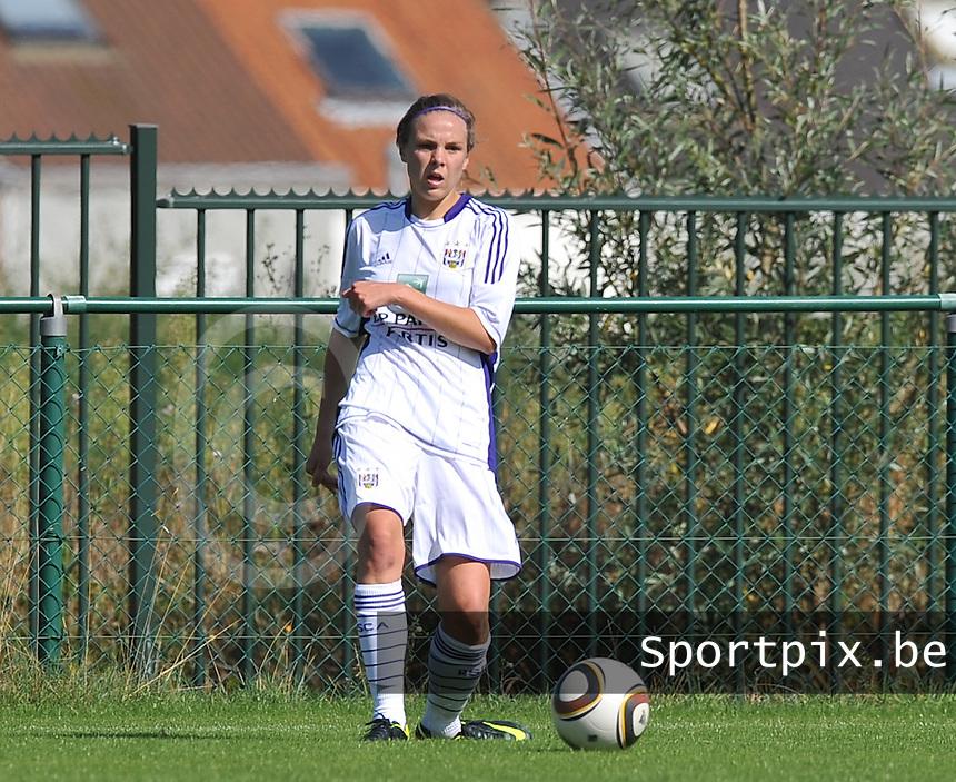 RSC Anderlecht Dames : Lorca Van de Putte.foto DAVID CATRY /  Vrouwenteam.be.