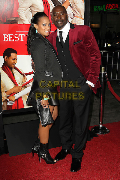 05 November 2013 - Hollywood, California - guest &amp; Morris Chestnut at &quot;The Best Man Holiday&quot; Los Angeles Premiere held at TCL Chinese Theatre on November 5th, 2013<br /> CAP/ADM/KB<br /> &copy;Kevan Brooks/AdMedia/Capital Pictures