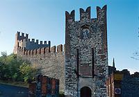 Italien, Venetien-Friaul, Soave, Burg