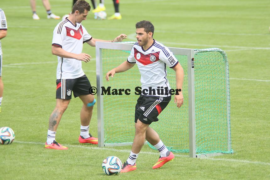 Kevin Volland - Abschlusstraining der Deutschen Nationalmannschaft gegen die U20 im Rahmen der WM-Vorbereitung in St. Martin