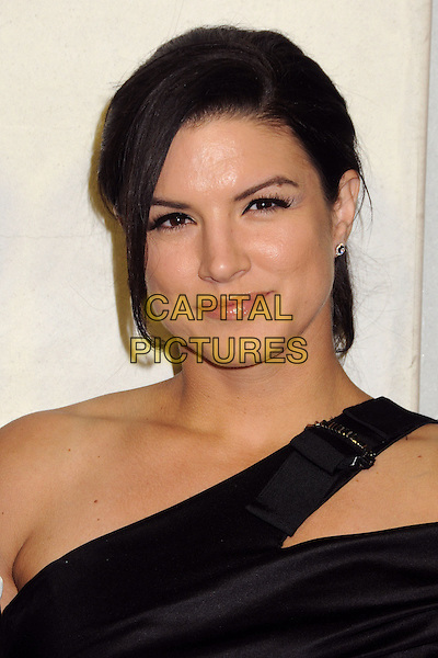 Gina Carano.Tom Ford Cocktail Party held at the Tom Ford Store, Beverly Hills, California, USA..February 21st, 2013.headshot portrait black one shoulder .CAP/ADM/BP.©Byron Purvis/AdMedia/Capital Pictures.
