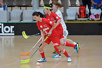 China's Siyu Zhao in action during the World Floorball Championships 2017 Qualification for Asia Oceania Region - Korea v China at ASB Sports Centre , Wellington, New Zealand on Saturday 4 February 2017.<br /> Photo by Masanori Udagawa<br /> www.photowellington.photoshelter.com.