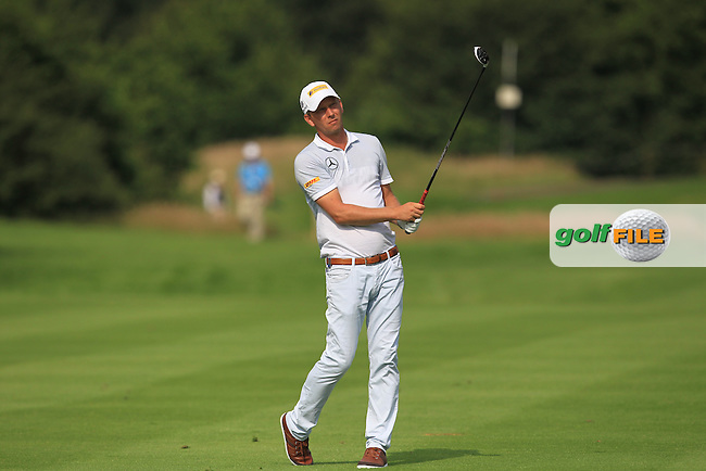 Marcel Siem (GER) on the 15th fairway during the Round 2 of the 2016 BMW International Open at the Golf Club Gut Laerchenhof in Pulheim, Germany on Friday 24/06/16.<br /> Picture: Golffile | Thos Caffrey