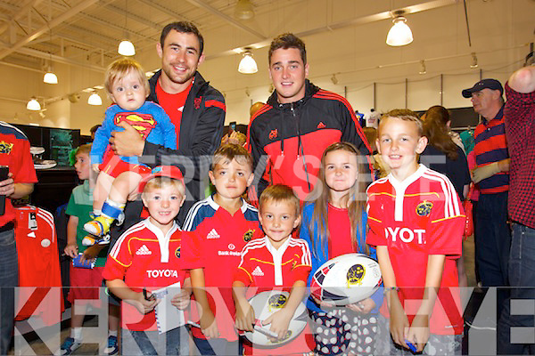 27e9af2494f9f Munster Rugby Players visit Lifestyle Sports in Manor Tralee on Thursday  Pictured Kayleigh Butler, Darragh