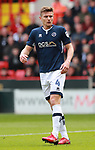 Shaun Hutchinson of Millwall during the championship match at the Bramall Lane Stadium, Sheffield. Picture date 14th April 2018. Picture credit should read: Simon Bellis/Sportimage