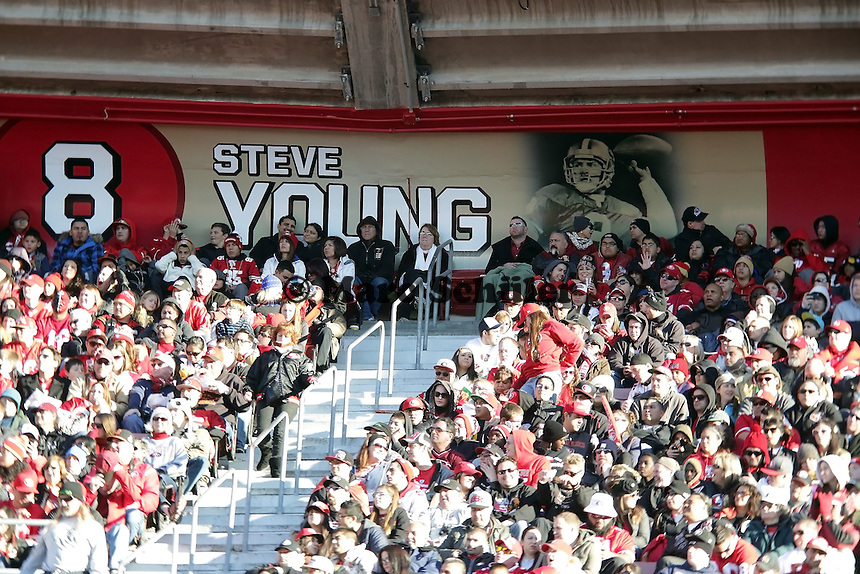 Sektion von Legende Steve Young