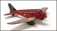 BNPS.co.uk (01202 558833)<br /> Pic : RRAuctions/BNPS<br /> <br /> Poignant inspiration - Tin plate toy plane belonging to Neil Armstrong when he was a child living in Wapakoneta, Ohio, estimated £8,000.<br /> <br /> One small step-by-step for man...<br /> <br /> Fascinating step-by-step plan of the historic first moon landing reveals NASA's meticulous planning. <br /> <br /> A collection of rare artefacts from the Apollo 11 mission are being sold on the 50th anniversary of the historic moon landings.<br /> <br /> The sale also includes an American flag carried to the moon, Neil Armstrong's toy plane that first inspired him to fly, along with his Robbins medal and the visitors book from Airforce One with comments from the astronauts and their wives.<br /> <br /> The items are going under the hammer with US based RR Auctions who expect them to fetch over £127,000. ($160,000)