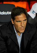 4th November 2017, Camp Nou, Barcelona, Spain; La Liga football, Barcelona versus Sevilla; Eduardo 'Toto' Berizzo Sevilla's manager