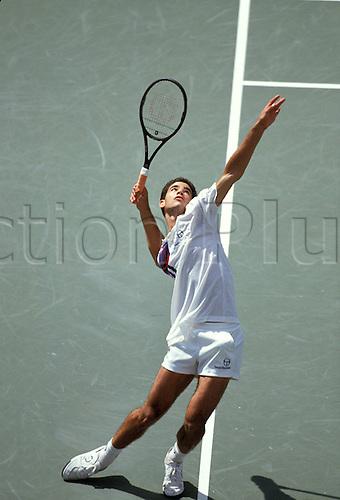 01.09.1991 Pete Sampras (USA) US Open 1991, Grand Slam, ATP Tour New York, Flushing Meadows