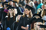 Faculty members file into the 2018 Western Nevada College Commencement ceremony, in Carson City, Nev., on Monday, May 21, 2018. <br /> Photo by Cathleen Allison/Nevada Momentum