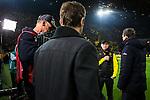 14.01.2018, Signal Iduna Park, Dortmund, GER, 1.FBL, Borussia Dortmund vs VfL Wolfsburg, <br /> <br /> im Bild | picture shows:<br /> Peter St&ouml;ger | Stoeger (Trainer Borussia Dortmund) im Interview mit Sky, <br /> <br /> Foto &copy; nordphoto / Rauch
