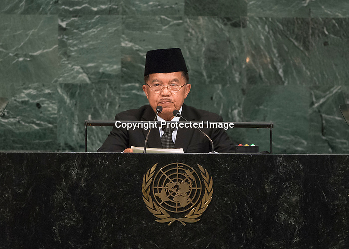 72 General Debate – 20 September <br /> <br /> His Excellency Muhammad Jusuf Kalla, Vice-President of the Republic of Indonesia
