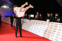 Leigh Francis and Paddy McGuinness<br /> at the National TV Awards 2017 held at the O2 Arena, Greenwich, London.<br /> <br /> <br /> &copy;Ash Knotek  D3221  25/01/2017