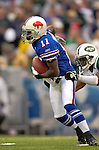 24 September 2006: Buffalo Bills wide receiver Roscoe Parrish in action against the New York Jets at Ralph Wilson Stadium in Orchard Park, NY. The Jets defeated the Bills 28-20. Mandatory Photo Credit: Ed Wolfstein Photo
