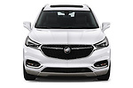 Car photography straight front view of a 2018 Buick Enclave Avenir 5 Door SUV