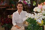 07.06.2018,  Lueneburg, Rote Rosen   im Bild Jenny Juergens (Schauspielerin) kehrt nach drei Jahren zu den Rote Rosen zurueck , in den Kulissen der Gaertnerei Albers Foto © nordphoto / Witke