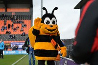 The Bees Mascot during Barnet vs Stockport County, Emirates FA Cup Football at the Hive Stadium on 2nd December 2018