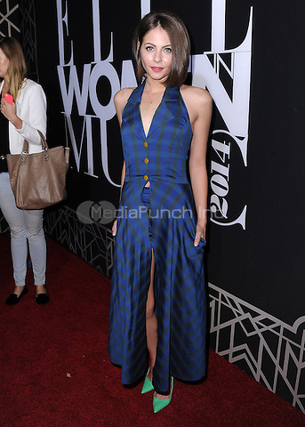 HOLLYWOOD, CA - APRIL 22:  Willa Holland at ELLE 5th Annual Women in Music at Avalon on April 22, 2014 in Hollywood, California.PGSK/MediaPunch