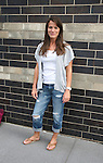 Melissa Claire Egan outside the All My Children Studios, New York City, New York. (Photo by Sue Coflin/Max Photos)