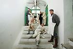 Casa di reclusione di Volterra 14 gennaio 2009 - Compagnia della fortezza - si prova lo spettacolo Marat- Sade regia Armando Punzo
