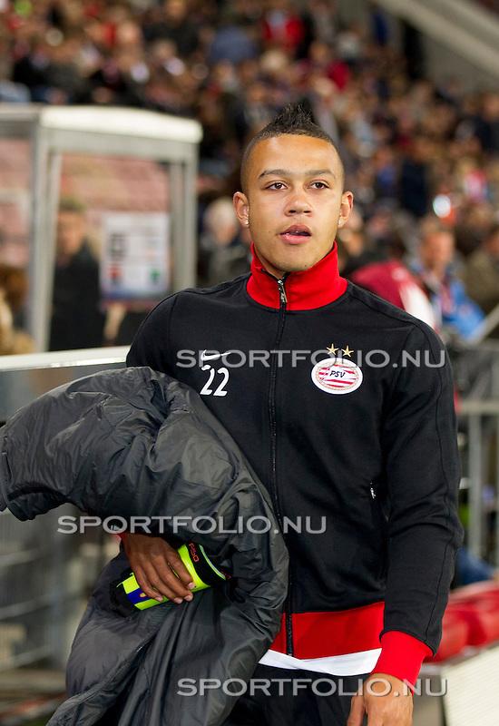 Nederland, Amsterdam, 4 oktober  2012.Seizoen 2012-2013.EuropaLeague.PSV-Napoli.Memphis Depay van PSV