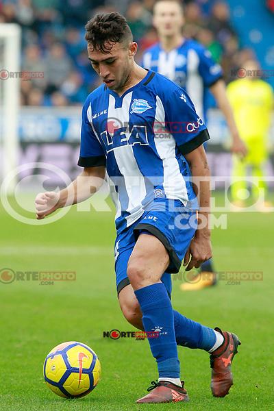 Deportivo Alaves' Munir El Haddadi during La Liga match. October 28,2017. (ALTERPHOTOS/Acero) /NortePhoto.com