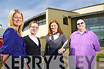 Siobhan Naughton (Shannon Development), Finbar Hussey (Connect programme), Justin Flynn (Connect programme) and Catriona Py Collins (Donseed) pictured at Kerry technology park.