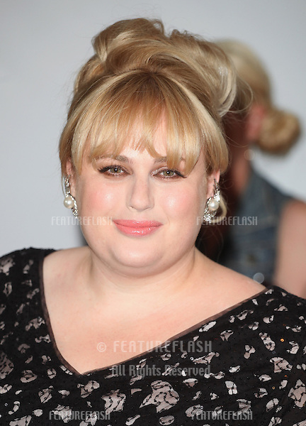 Rebel Wilson arriving for the 013 Glamour Awards, Berkeley Square, London. 04/06/2013 Picture by: Alexandra Glen / Featureflash