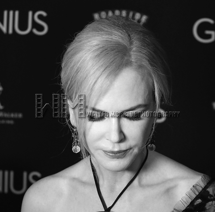 Nicole Kidman attends 'Genius' New York premiere at Museum of Modern Art on June 5, 2016 in New York City.