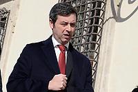Roma, 14 Marzo 2017<br /> Il ministro della Giustizia e candidato a segretario del Partito Democratico Andrea Orlando a Piazza Colonna