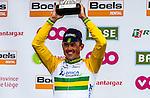 Podium: Simon Gerrans (AUS,OGE) wins Liege-Bastogne-Liege, Ans, Belgium, 27 April 2014, Photo by Thomas van Bracht / www.pelotonphotos.com