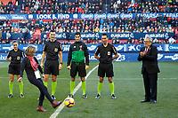 Saray Asociation before the Spanish football of La Liga 123, match between CA Osasuna and AD Alcorcón at the Sadar stadium, in Pamplona (Navarra), Spain, on Sanday, December 16, 2018.