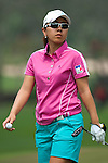 CHON BURI, THAILAND - FEBRUARY 17:  Mika Miyazato of Japan walks on the 11th green during day two of the LPGA Thailand at Siam Country Club on February 17, 2012 in Chon Buri, Thailand.  Photo by Victor Fraile / The Power of Sport Images