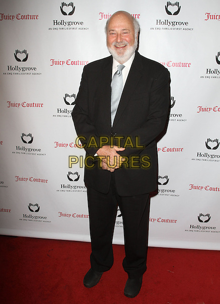 Rob Reiner.Hooray for Hollygrove event celebrates 100 years in Hollywood presented by juicy couture Held at The Hollywood Museum, Hollywood, California, USA..April 25th, 2012.full length black suit beard facial hair .CAP/ADM/KB.©Kevan Brooks/AdMedia/Capital Pictures.
