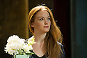London, UK. 07.04.2014. THREE SISTERS by Anton Chekhov, opena at Southwark Playhouse. Picture shows: Olivia Hallinan (Olga). Photograph © Jane Hobson.
