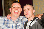Mark Fitzpatrick celebrates his 21st in the Star and Crescent with friend Danny McGuirk..Picture: Shane Maguire / www.newsfile.ie.