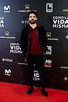 Nico Romero attends to 'Como la Vida Misma' film premiere during the 'Madrid Premiere Week' at Callao City Lights cinema in Madrid, Spain. November 12, 2018. (ALTERPHOTOS/A. Perez Meca)