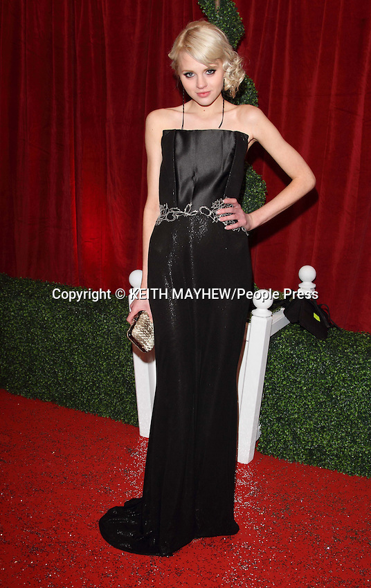 London - Red Carpet arrivals at the British Soap Awards 2012 held at the ITV Studios, South Bank, London - April 28th 2012..Photo by Keith Mayhew.