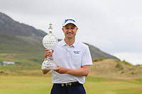 Russell Knox (SCO) winner of the Dubai Duty Free Irish Open, Ballyliffin Golf Club, Ballyliffin, Co Donegal, Ireland. 08/07/2018<br /> Picture: Golffile   Thos Caffrey<br /> <br /> <br /> All photo usage must carry mandatory copyright credit (&copy; Golffile   Thos Caffrey)