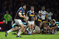 Mark Lambert of Harlequins in possession. Aviva Premiership match, between Harlequins and Wasps on April 28, 2017 at the Twickenham Stoop in London, England. Photo by: Patrick Khachfe / JMP