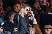 Carla Pereyra during the match of Spanish La Liga between Atletico de Madrid and Futbol Club Barcelona at Vicente Calderon Stadium in Madrid, Spain. February 26, 2017. (Rodrigo Jimenez / ALTERPHOTOS) /NortEPhoto.com