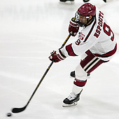 Luke Esposito (Harvard - 9) - The Harvard University Crimson defeated the US National Team Development Program's Under-18 team 5-2 on Saturday, October 8, 2016, at the Bright-Landry Hockey Center in Boston, Massachusetts.